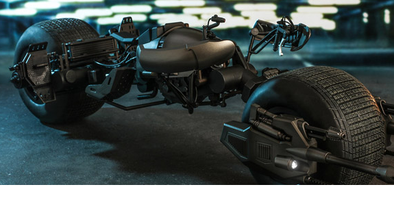 The Dark Knight Rises MMS591 Bat-Pod 1/6 Scale Scale Collectible (Reissue)