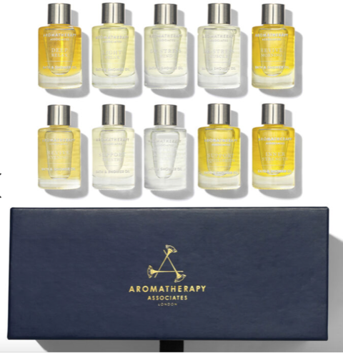 Ultimate Wellbeing Bath & Shower Oil Collection by Aromatherapy Associates, $99 @spacenk.com