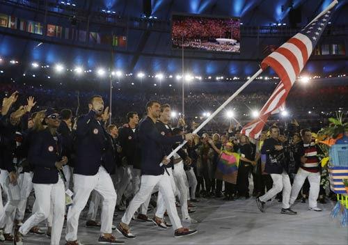 Khai mạc Olympic 2016: Lung linh, huyền ảo và cao đẹp - 3