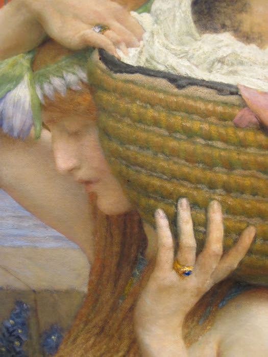 Alma_Tadema_Finding_of_Moses_detail3-large (525x700, 453Kb)