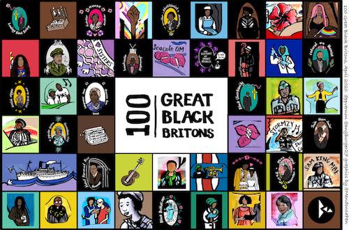 100 great black britons home school