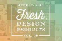 This Week's Fresh Design Products: Vol. 30