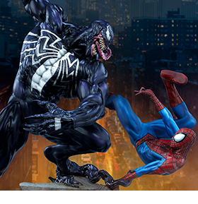 Marvel Spider-Man vs. Venom Maquette