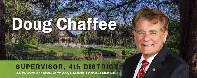 Supervisor Doug Chaffee, Fourth District