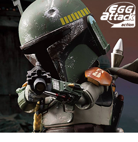 STAR WARS EGG ATTACK ACTION EAA-020 BOBA FETT