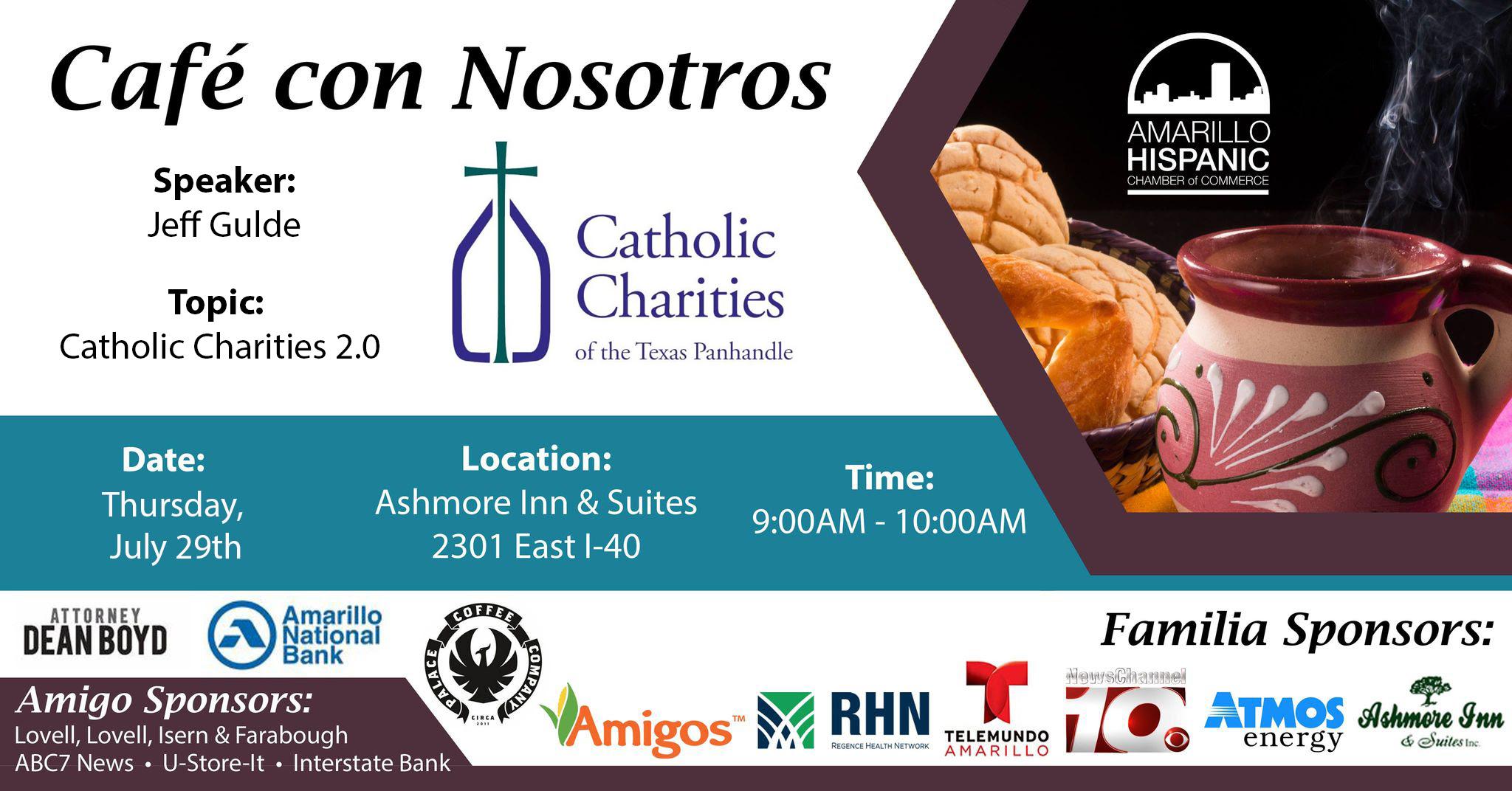 Cafe Con Nosotros @ Ashmore Inn & Suites