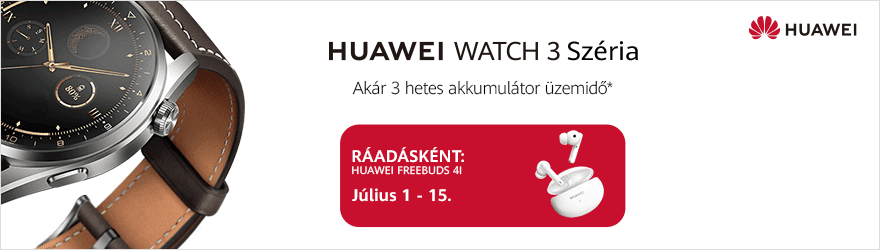 Huawei Watch 3 Széria előrendelés