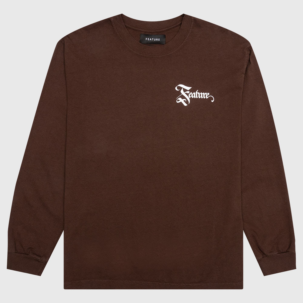 Feature Biome L/S Tee - Brown