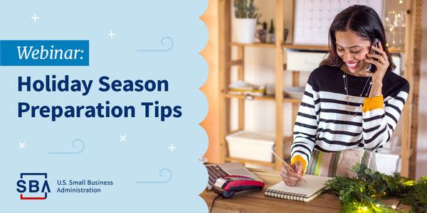 webinar: holiday season preparation tips