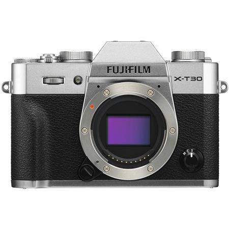 X-T30 Mirrorless Digital Camera (Body Only), Silver