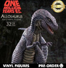 One Million Years B.C. Allosaurus Soft Vinyl Figure