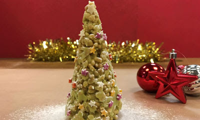 Puffed Rice Christmas Tree recipe