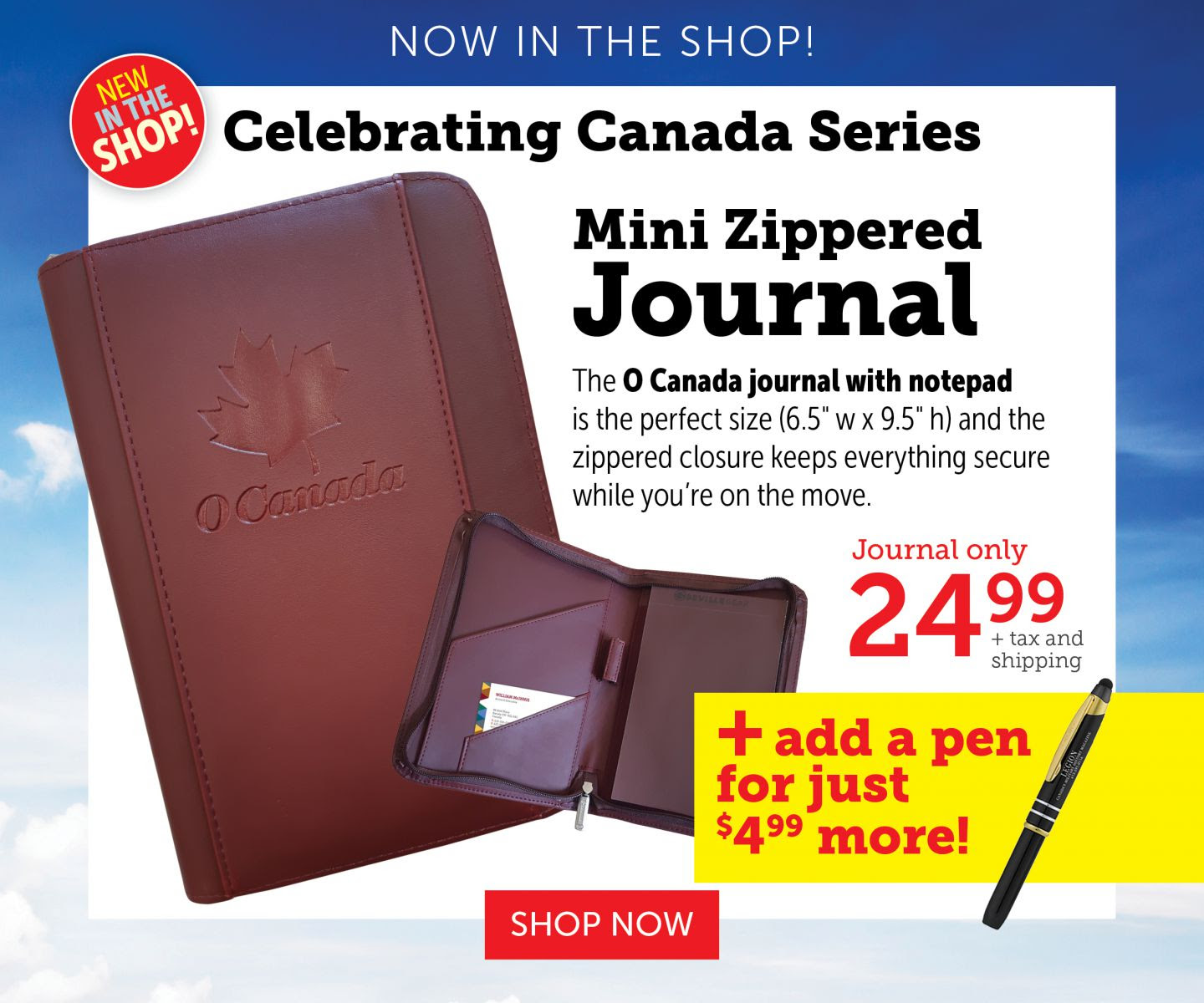 Celebrating Canada Series - O Canada Journal
