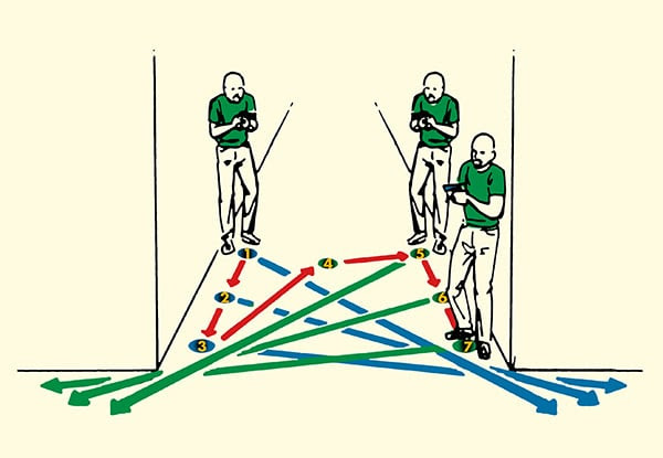 how to clear a home navigating hallways illustration