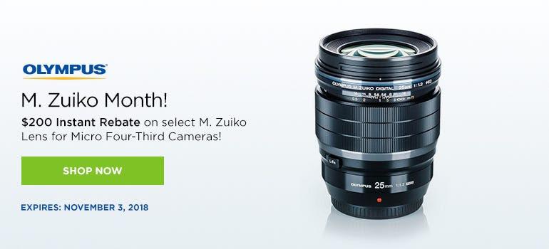 Olympus M.Zuiko Lens Sale