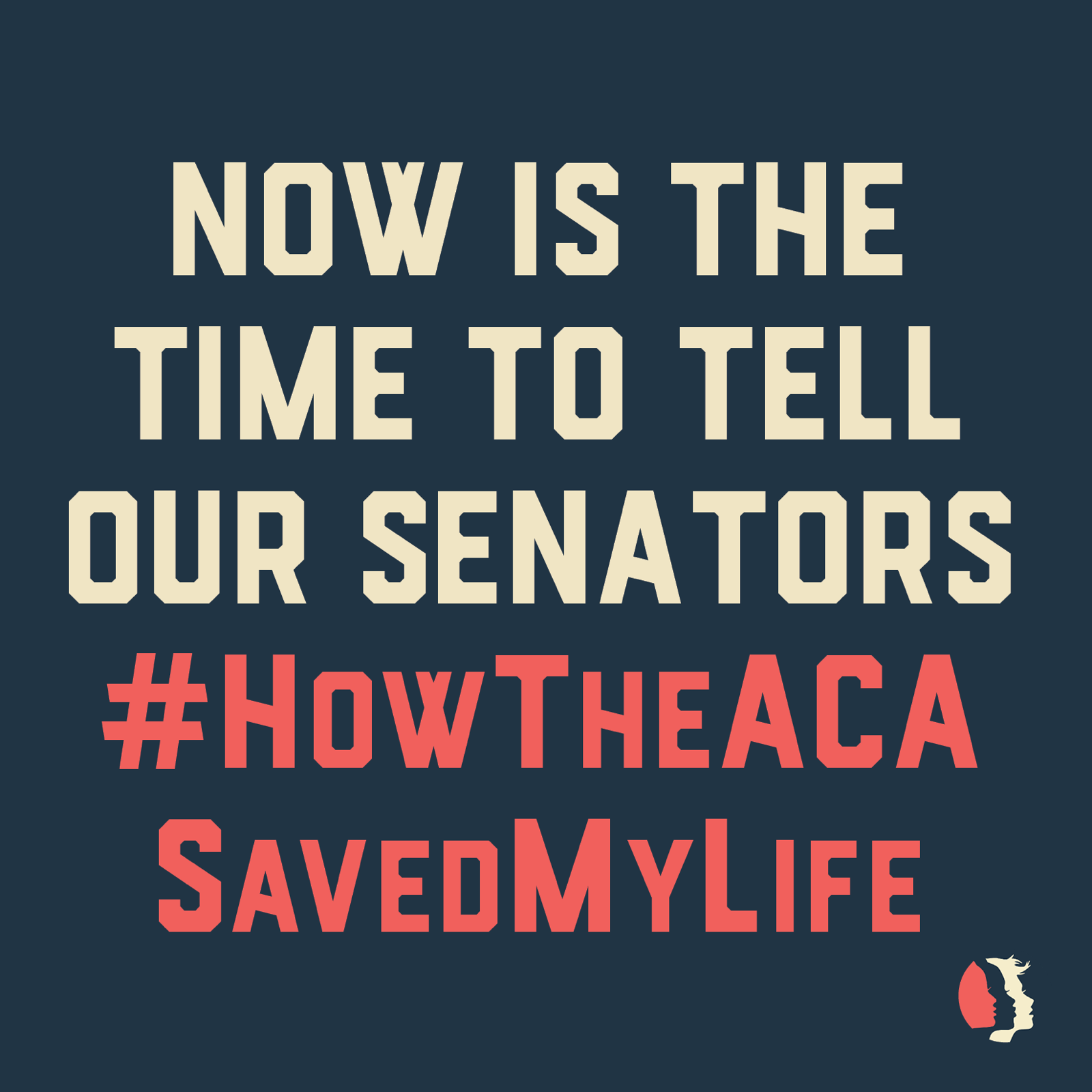 Now is the time to tell our senators #HowTheACASavedMyLife