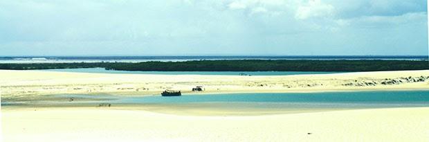 Galinhos, no litoral Norte, é um dos pontos mais bonitos da costa potiguar (Foto: Túlio Dantas)