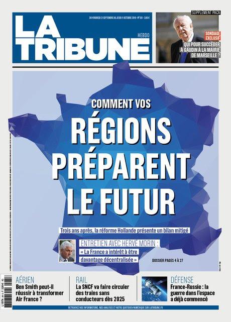 H261, couv, La Tribune Hebdo,