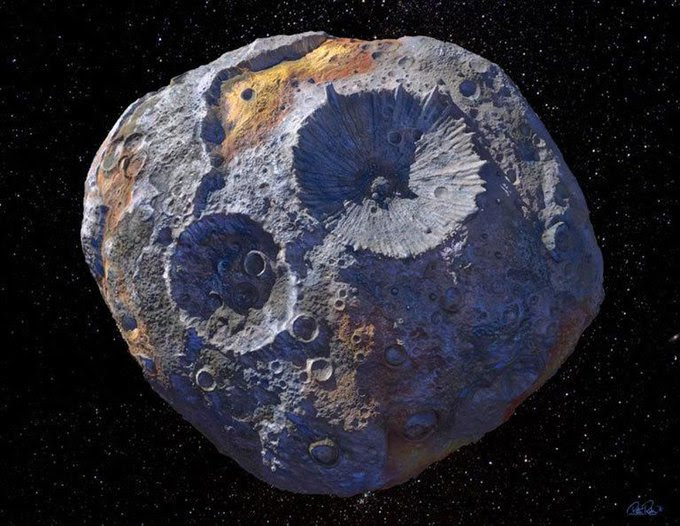 Pic of asteroid