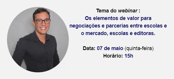 Tema + palestrante + data