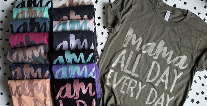 HOT!! Mama All Day Tee!
