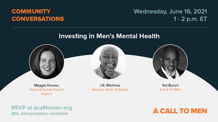 Investing in men's mental health