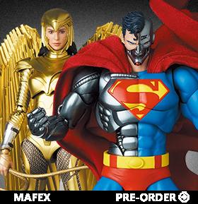 The Return of Superman MAFEX No.164 Cyborg Superman