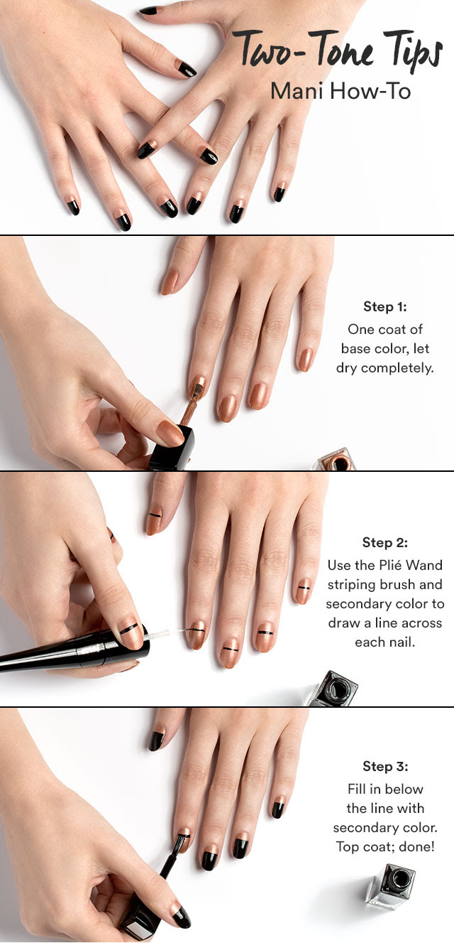 Two tone tips