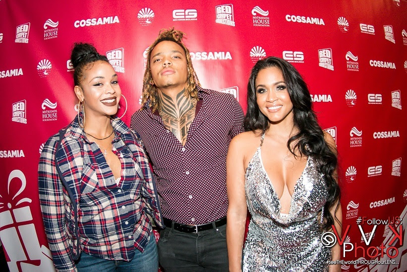 Robby Betts With Masika Khalia and Rosa Acosta