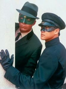 Van Williams and Bruce Lee in The Green Horney