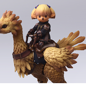 Final Fantasy XI Bring Arts Shantotto & Chocobo