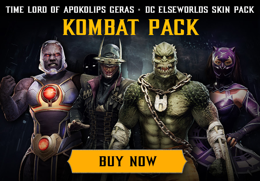Time Lord Of Apokolips Geras * Dc Elseworlds Skin Pack   Kombat Pack   Buy Now