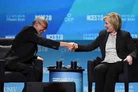 Podesta and Hillary