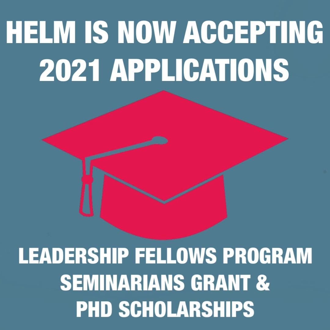 HELM scholarship graphic