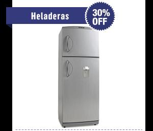 Heladeras - 30% OFF. Desde $5.299