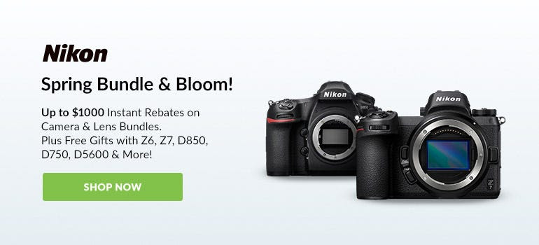 Nikon Spring Bundle and Bloom