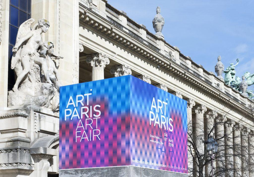 Art Paris 2020 at the Grand Palais. Image courtesy Art Paris.