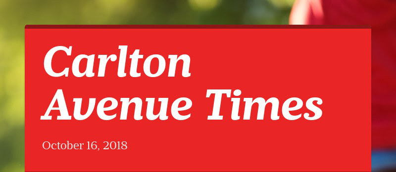 Carlton Avenue Times October 16, 2018