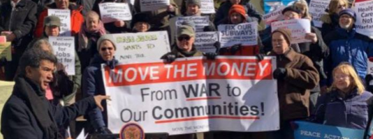 Move the Money from War to Our Communities