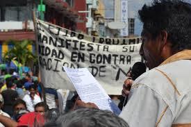 Ocho municipios chiapanecos fueron declarados territorios libres de represas y extracción minera