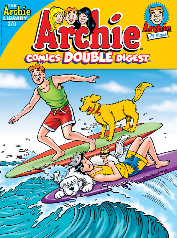 Archie Comics Double Digest #270 cover by Bill Galvan