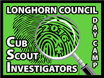 Day Camp 2016 - Cub Scout Investigators