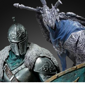 BANPRESTO DARK SOULS FIGURES