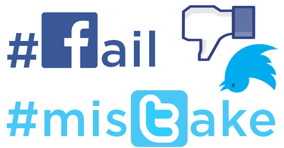 Image result for social media mistakes