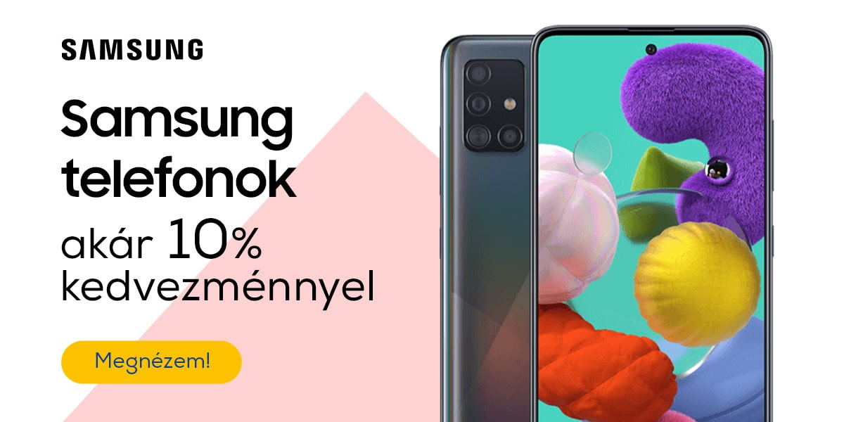 Samsung okostelefonok akár 10% kedvezménnyel