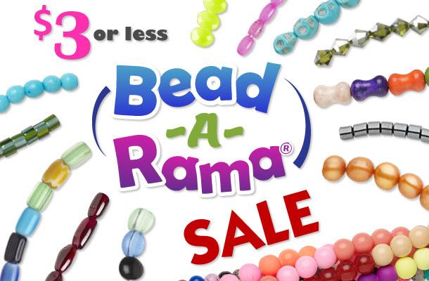 3 dollar Bead-A-Rama Sale