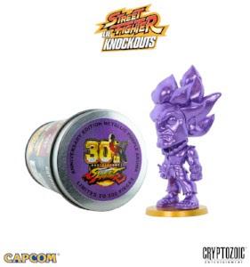 Metallic Purple Akuma (SF Lil Knockouts)