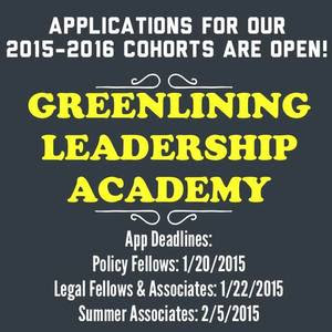 Apply for the 2015-16 Greenlining Leadership Academy!