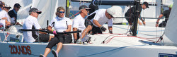 J/70 Zounds from Houston, Texas- sailing off San Diego