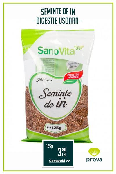 Seminte de in, 125g - SanoVita